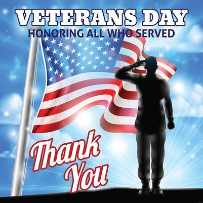 Thank you to all our Veterans!