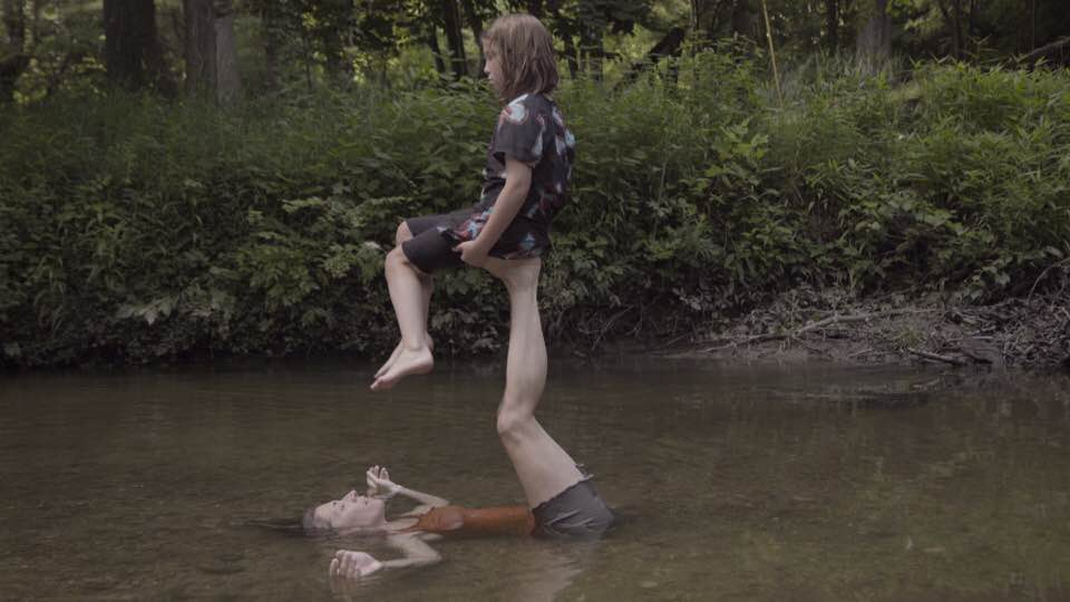 A still from  BOAT (a dance for camera). Photography by Charlie Borowicz (filmmaker).