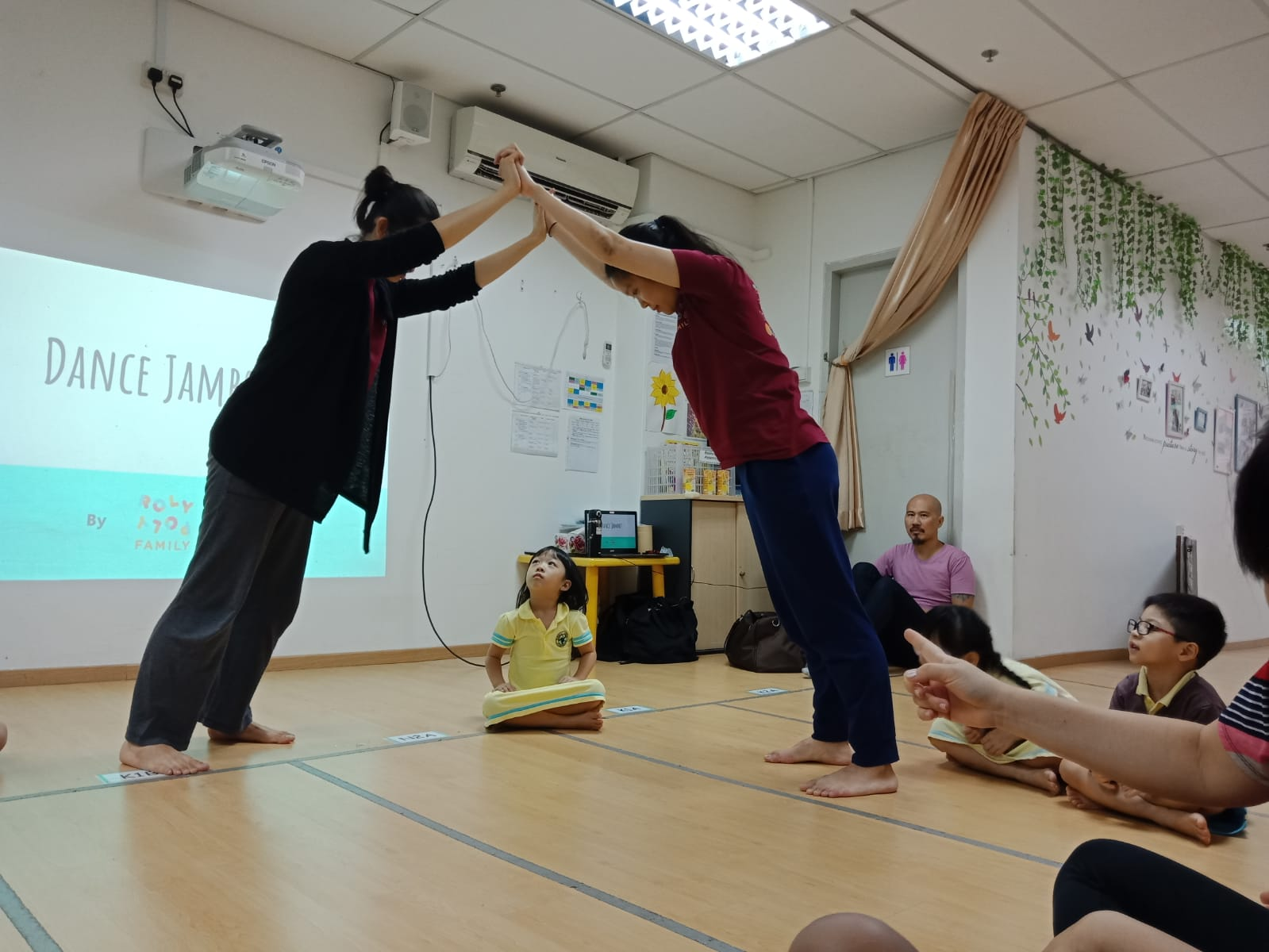 Dance Jambo session at Eshkol Valley Preschool
