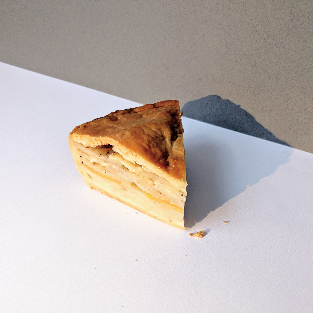 Potato and cheese pie 1
