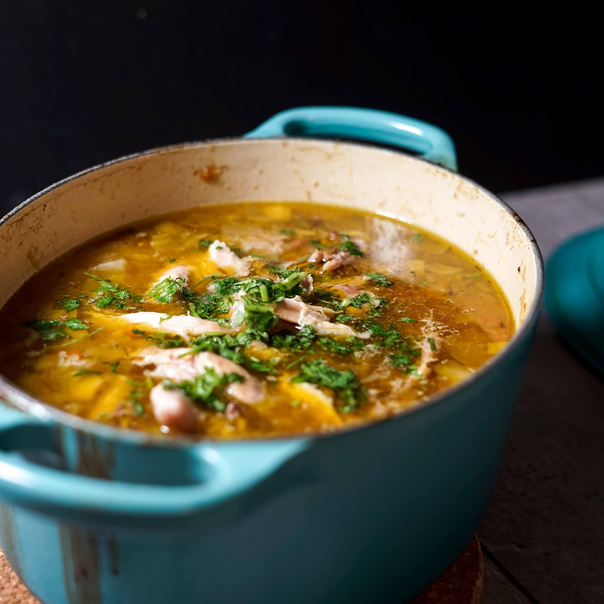 Chicken stew casserole