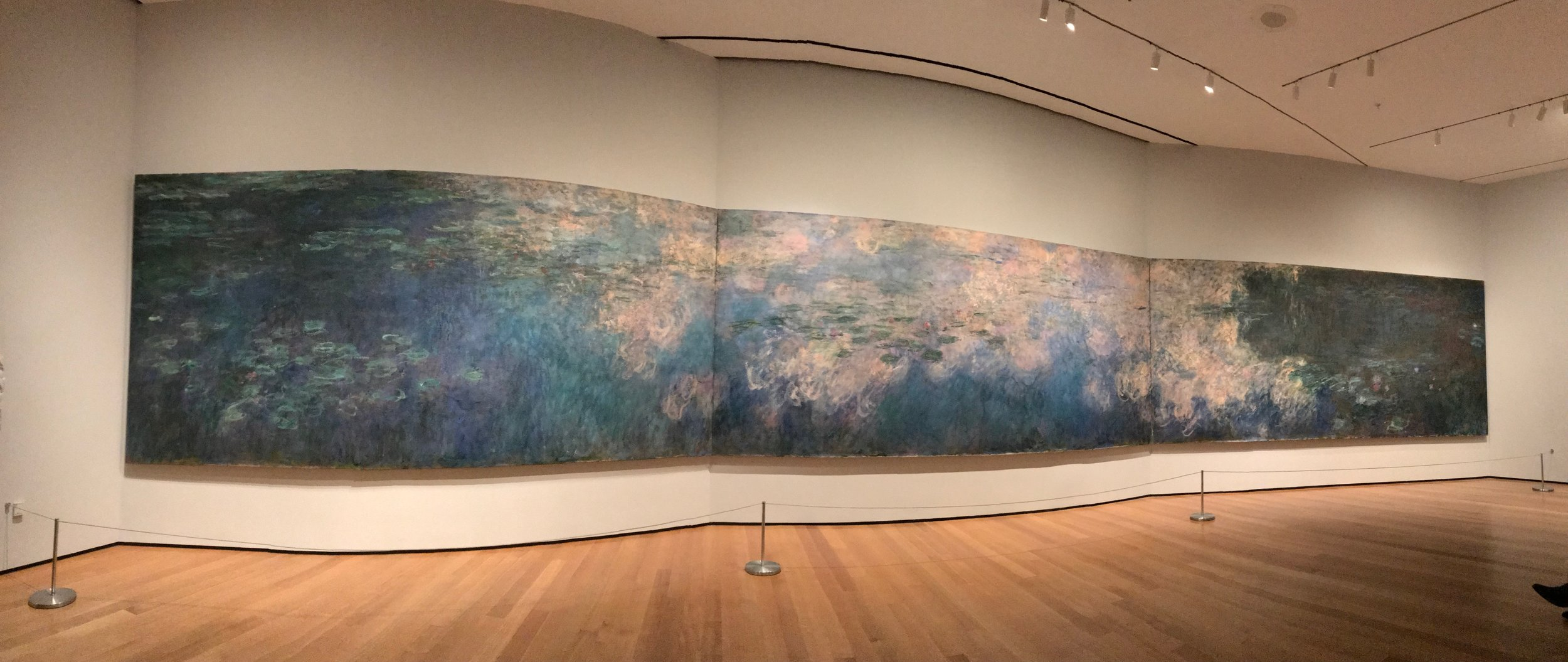 Monet's water lillies.