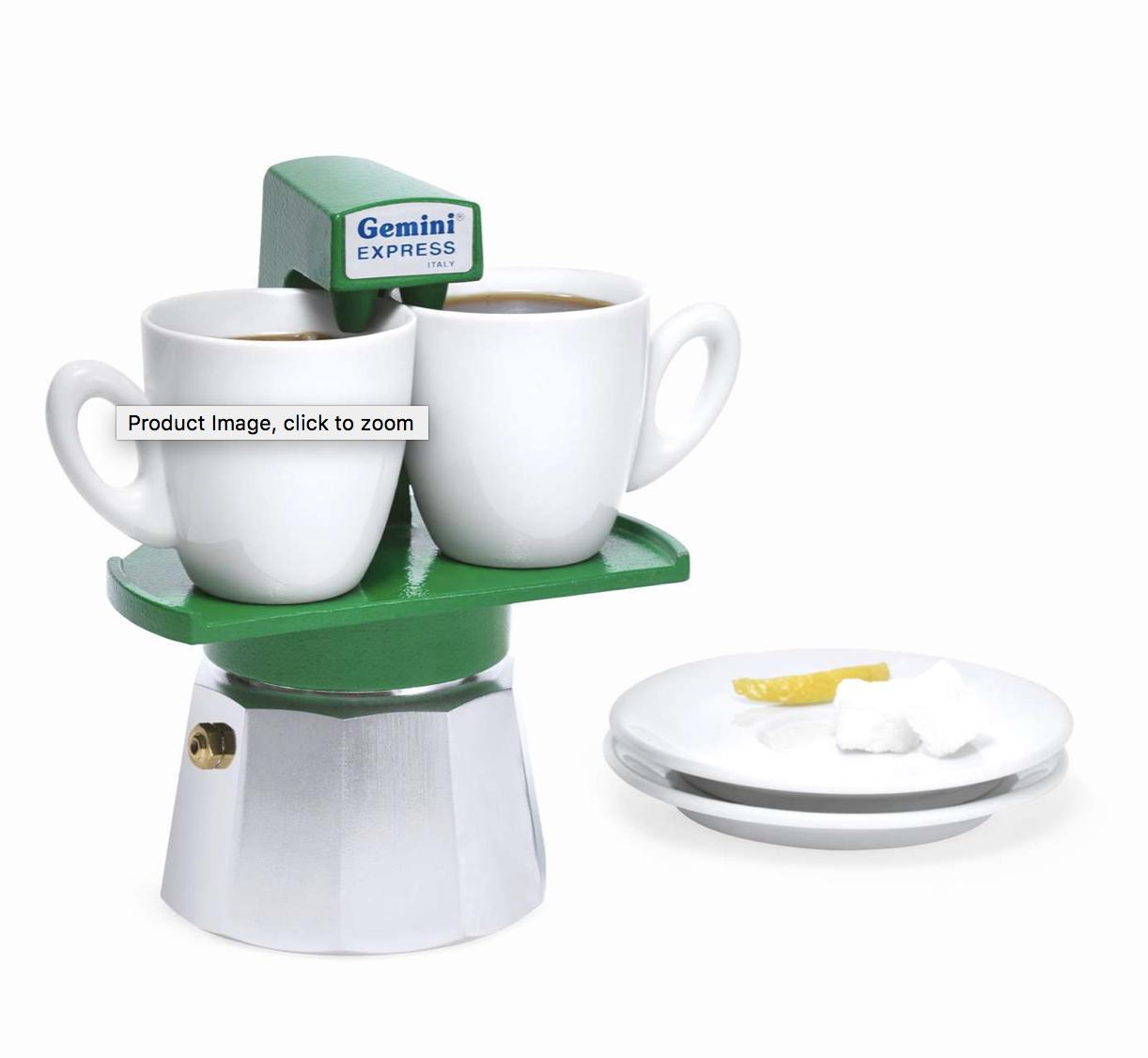 Gemini Espresso Maker
