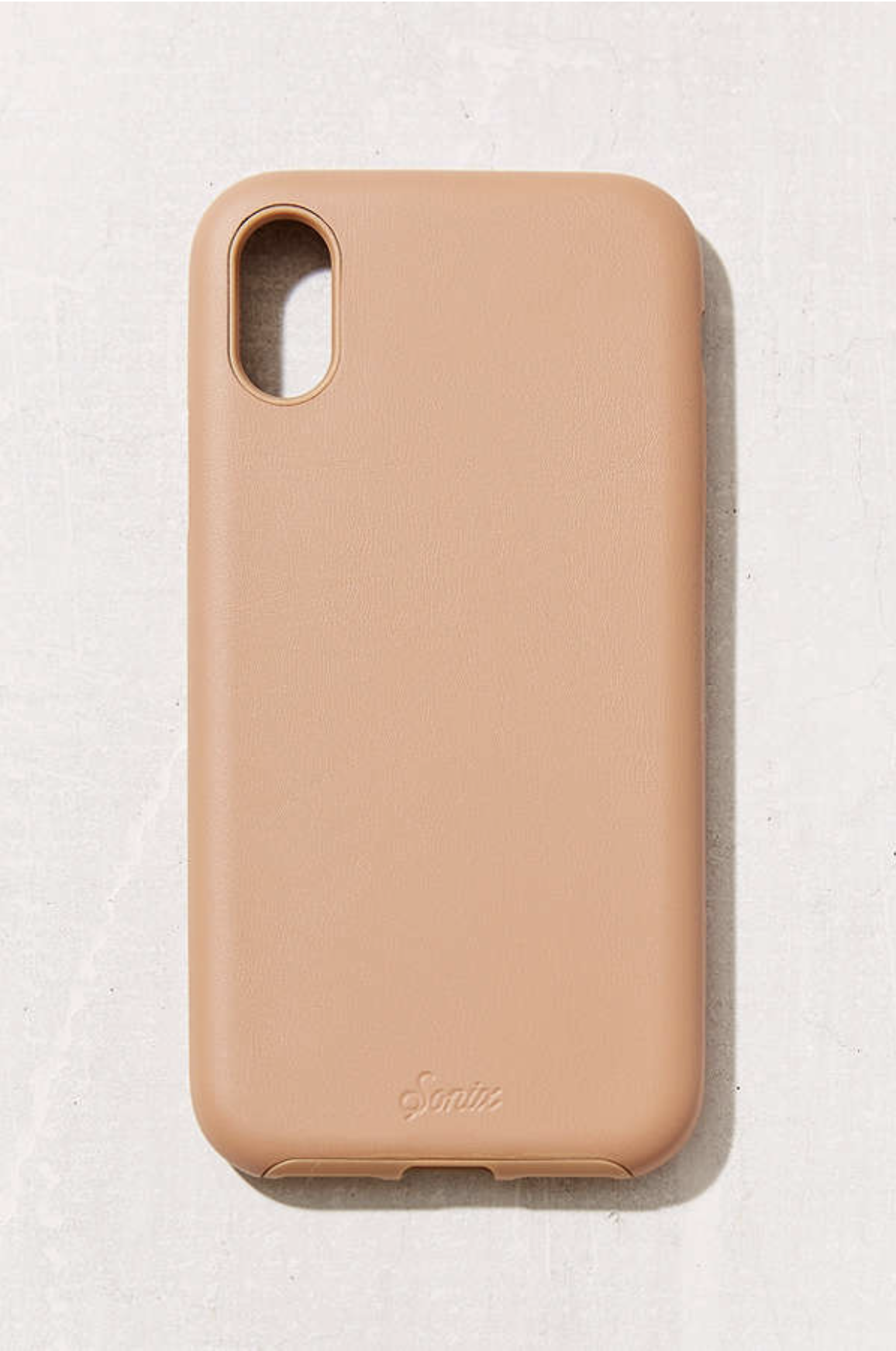 Sonix Solid Leather iPhone X Case