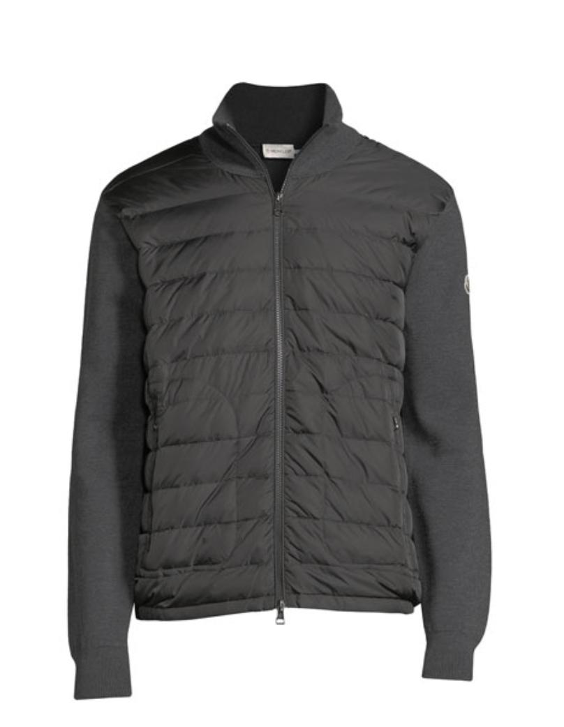 Zip-Front Jacket w/ Down Front