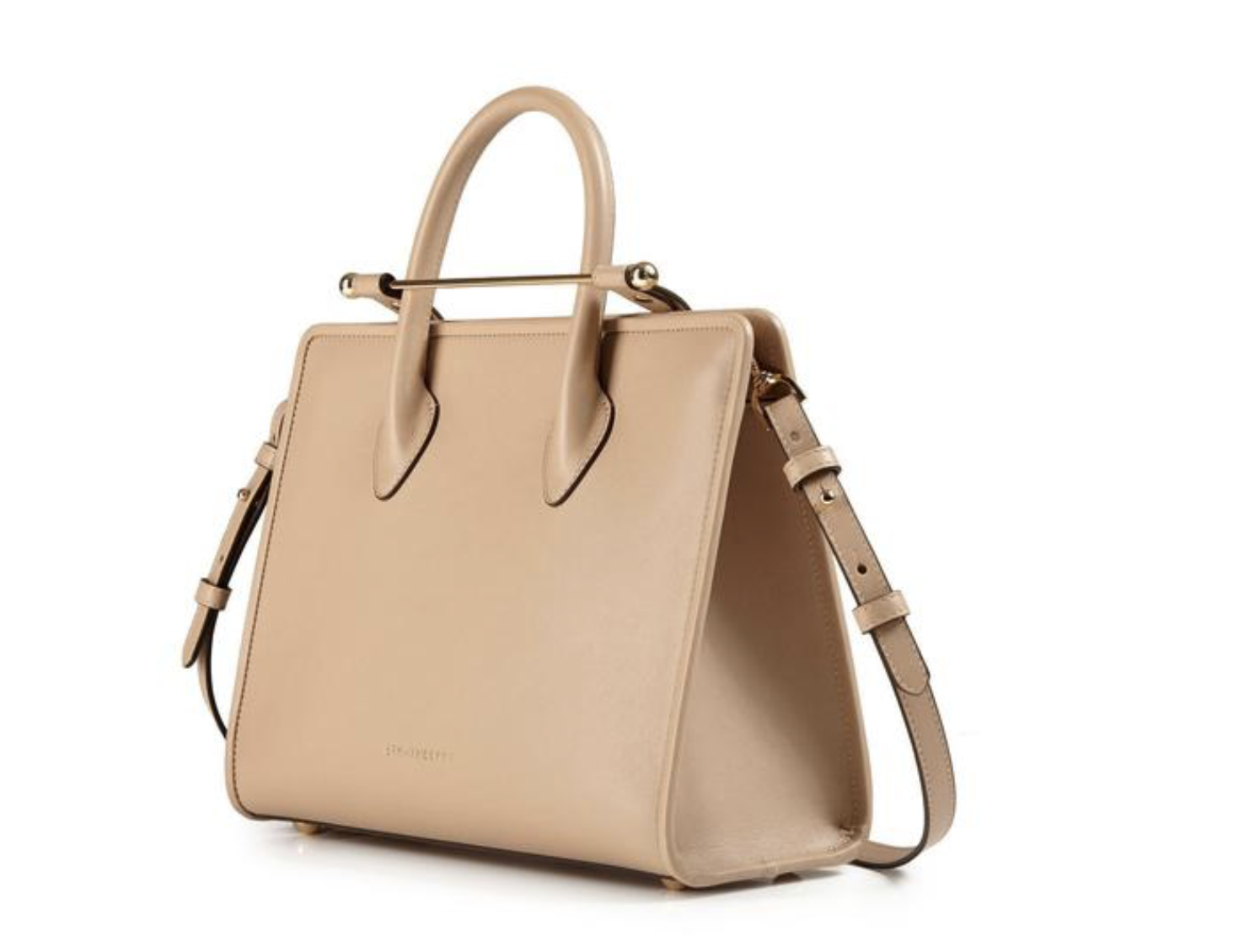 Strathberry midi tote - taupe