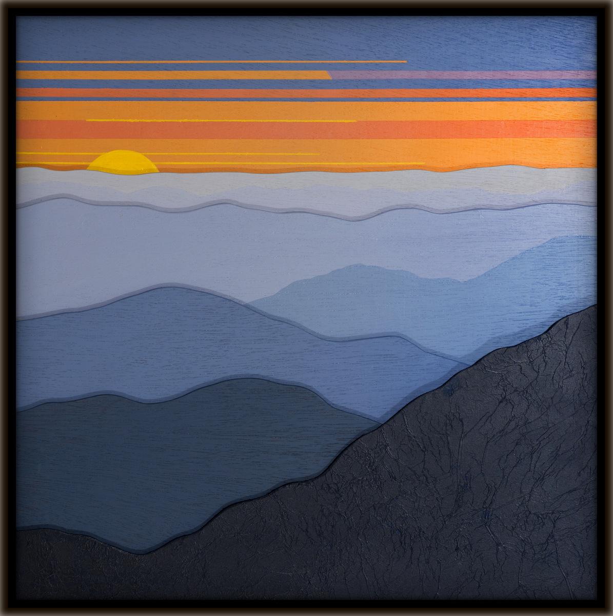 Cindy Lou Chenard, Dimensional Modern Landscape Painting.jpg