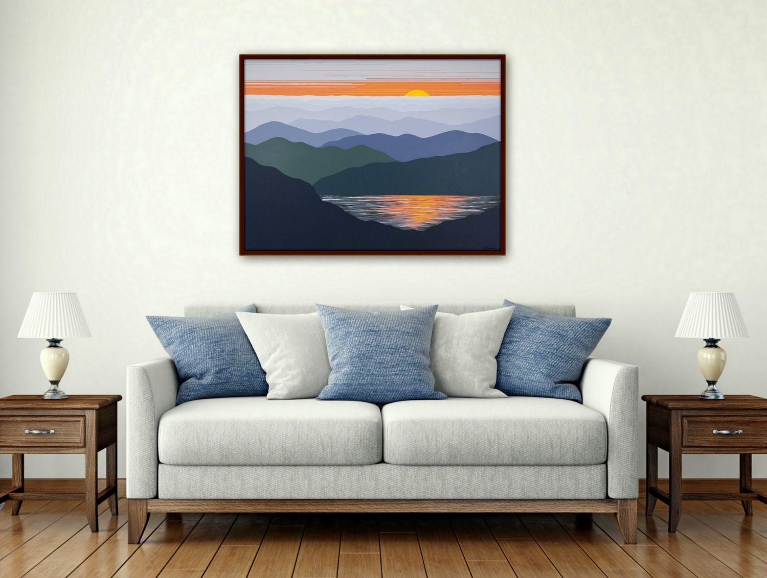Commission Dimensional Landscape Paintings, Cindy Lou Chenard, Asheville, North Carolina-026.jpg