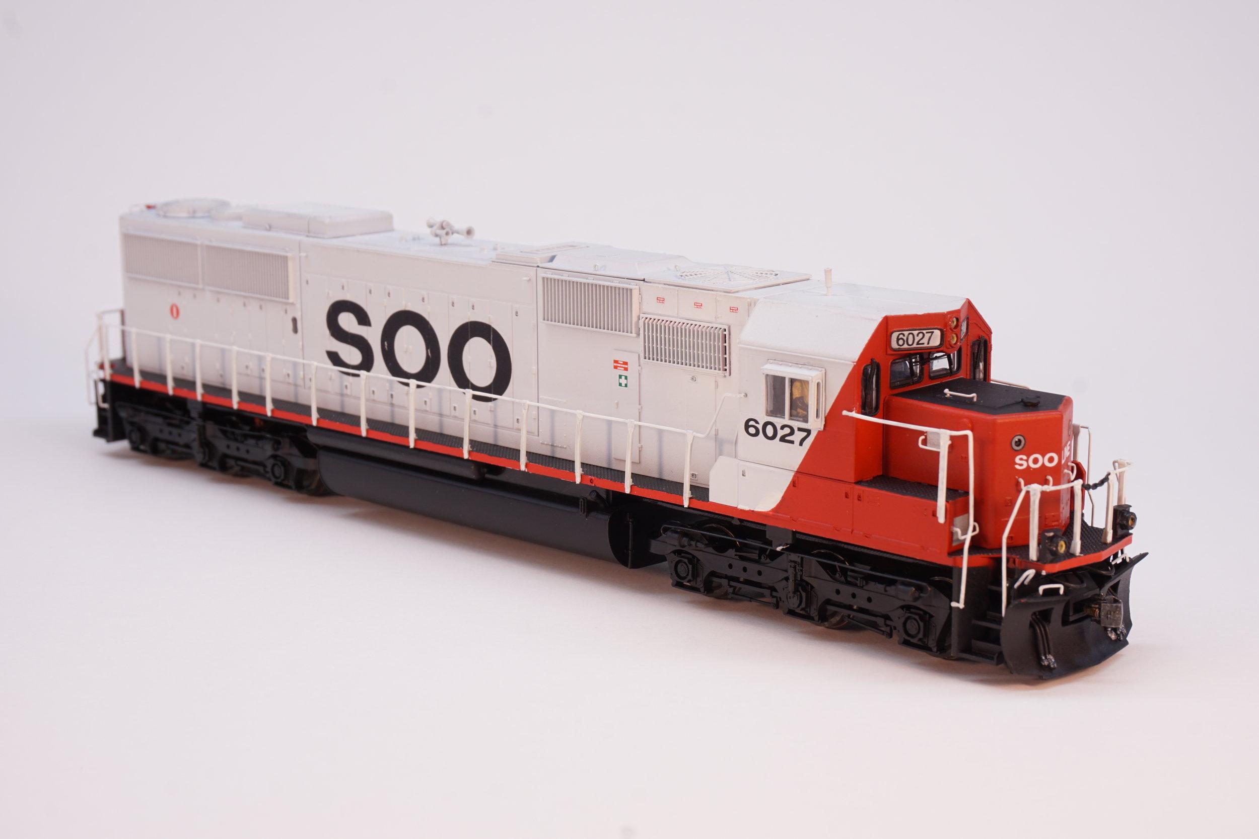 Soo SD60 - Custom painted Proto 2000 SD60