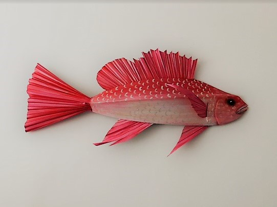 - Arts of PalmArtist Colleen Corson crafts these handmade fish from recycled palm fronds.Price Range: $60.00 - $120.00