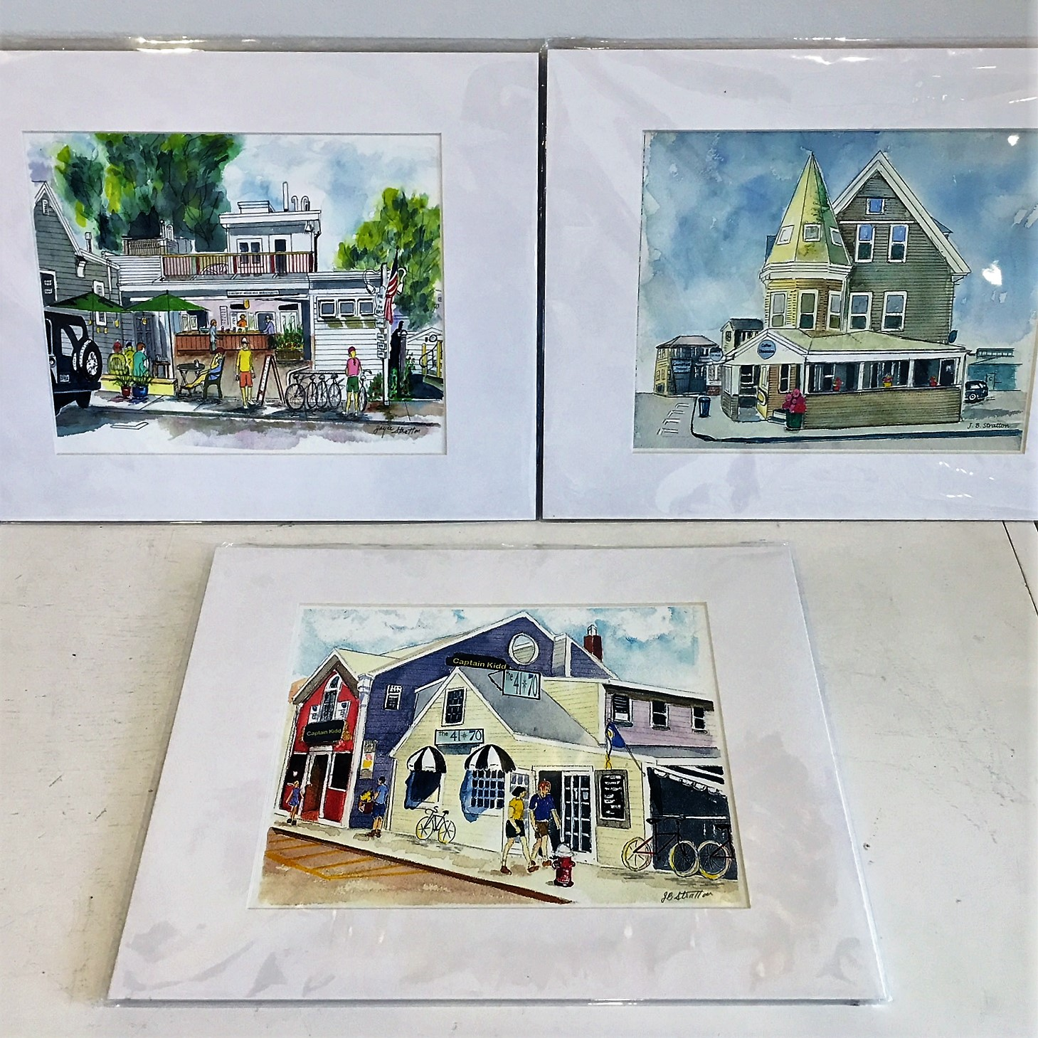 - Hand painted prints by Joyce Stratton. Various local Woods Hole landmarks stop in to view our entire collection! Price Range: $17.00 - $35.00