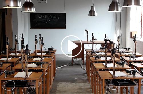 Machine Studies: Patrick Tresset