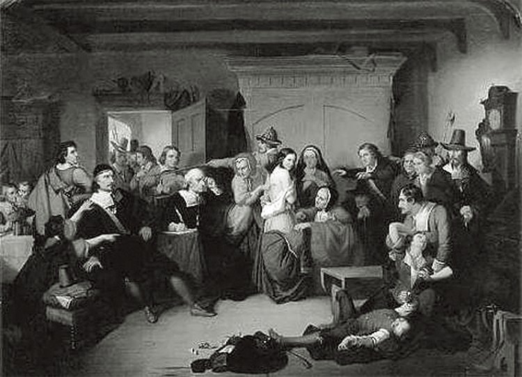 Connecticut Witch Trial, 1647.