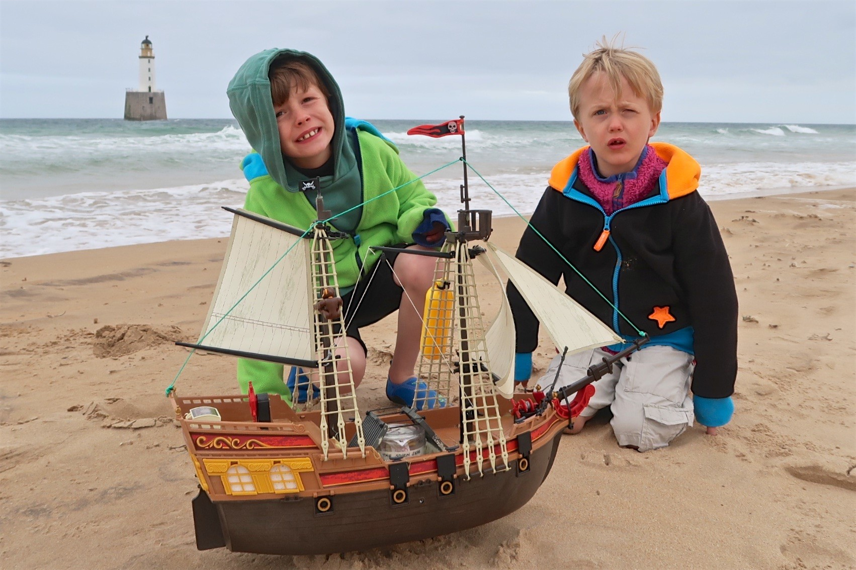 Ollie and Harry with the boat.jpg