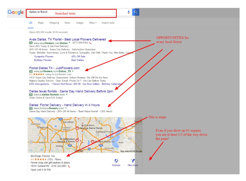 Dallas Texas Florist Google Search 1