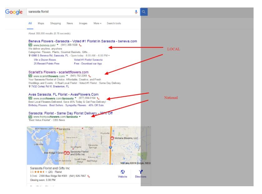 Sarasota Florist Google Search