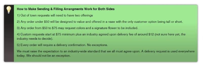 How to Make Sending & Filing Arrangements Work for Both Sides