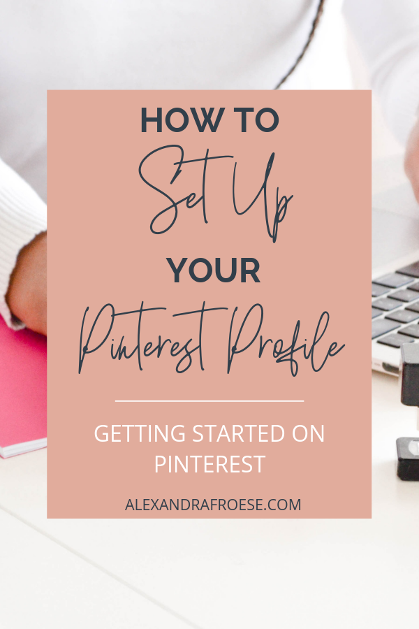 Before you can really get into Pinterest marketing, you have to set a solid foundation. Your profile is the backbone of your Pinterest experience and by making sure you start off strong, you really help your marketing get off on the right foot.