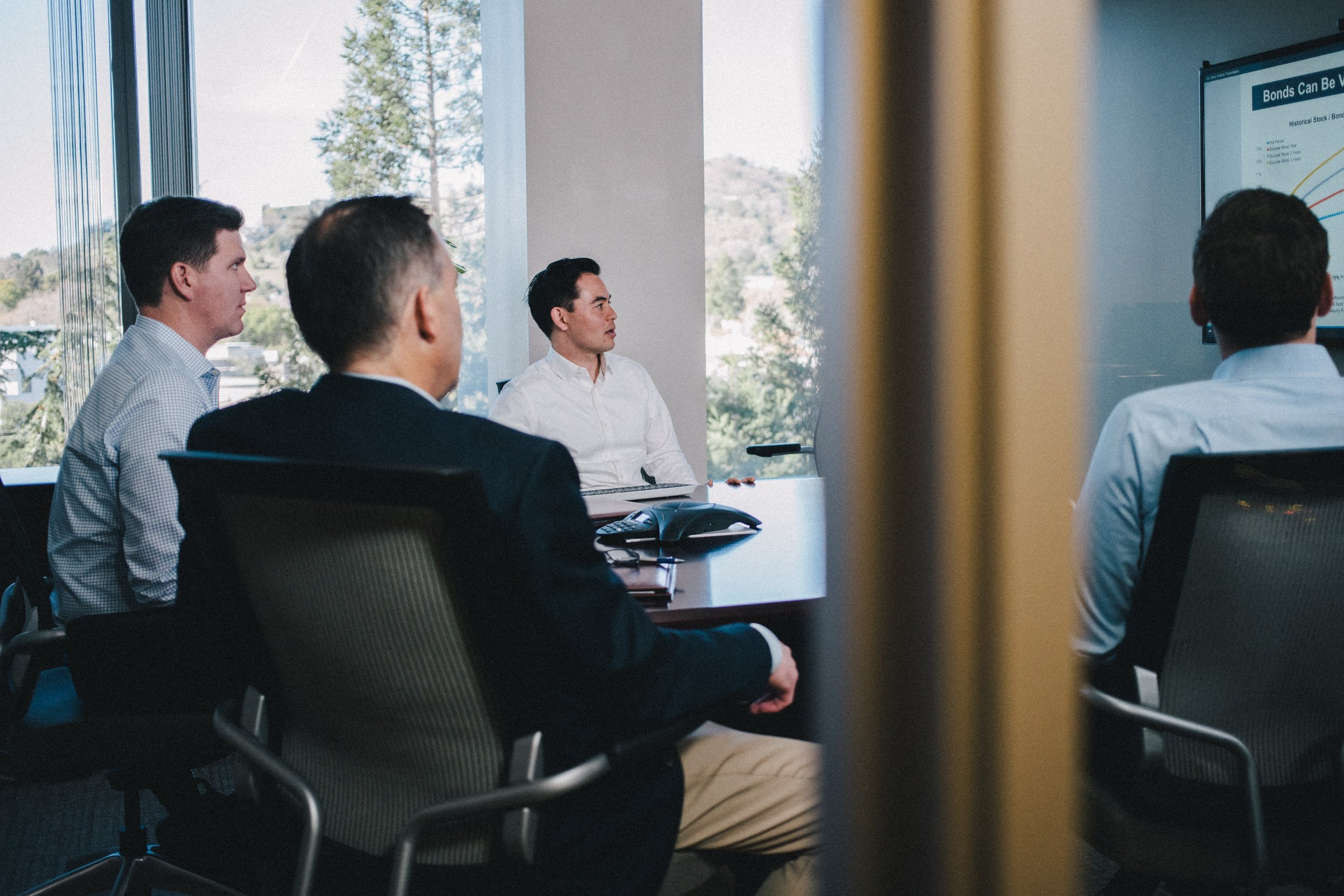 Our Process - No two clients - let alone no two people - are exactly alike. Our relationships depend upon a deep familiarity with your circumstances and objectives. Together, we'll identify your needs, build a plan, and help you see it through.