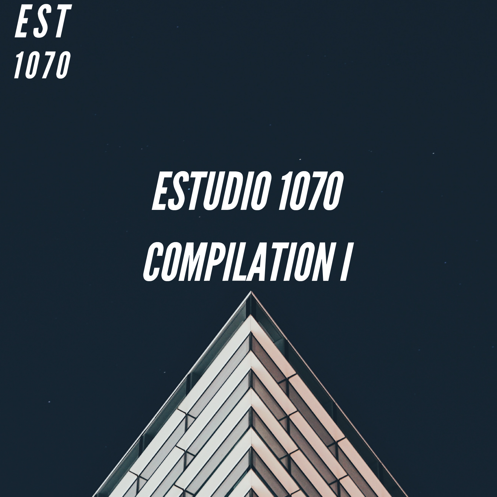 Various Artists - Estudio 1070 Compilation I   A curated list of artists that has pass thru the Estudio 1070 and collaborate to create a compilation where theres no genere in common but a goal that is put latin music in a new perspective .