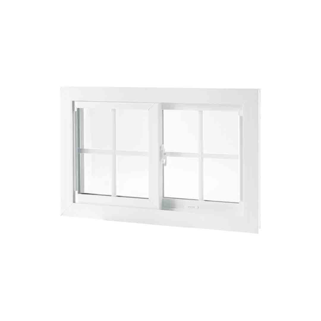Sliding Windows is like a double-hung window on its side. It offers great ventilation.