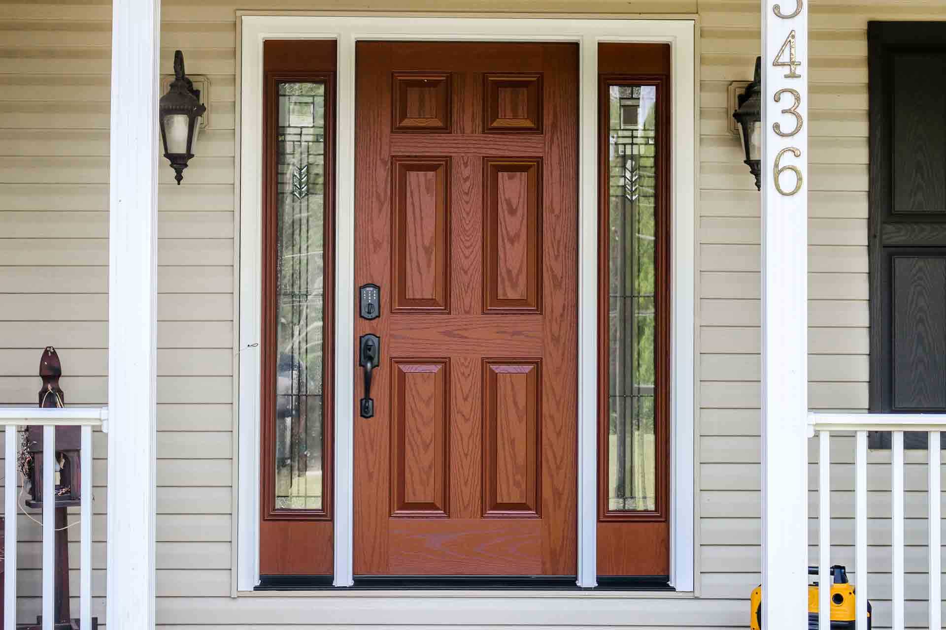 The Centerpiece of Many Homes is its entry door.