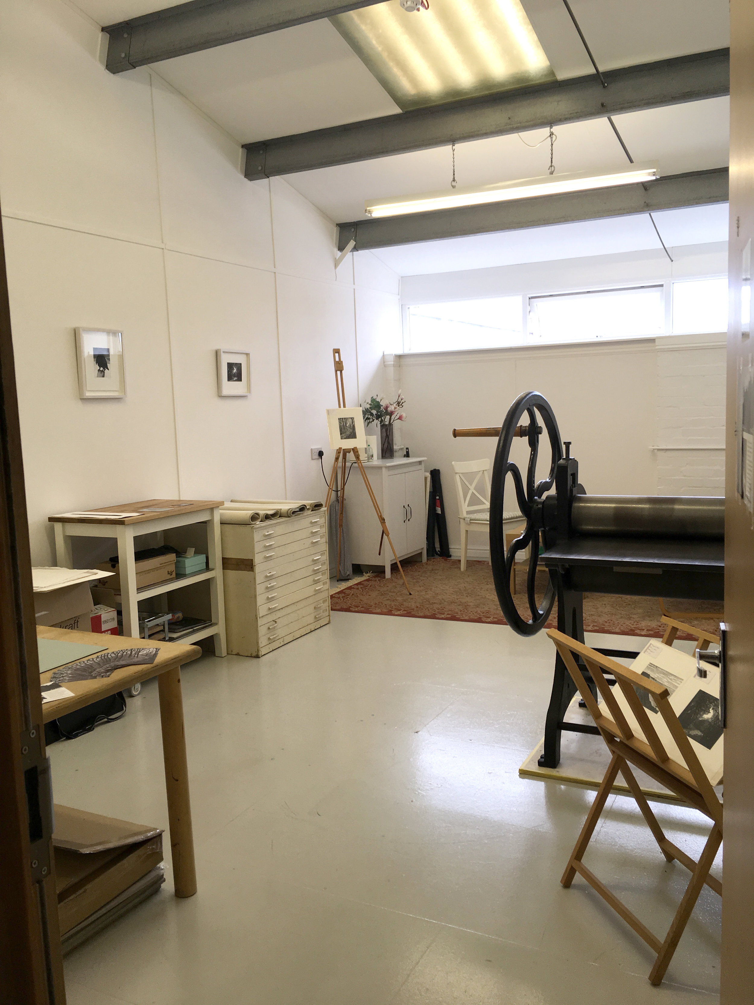 My studio at Thames-Side Studios