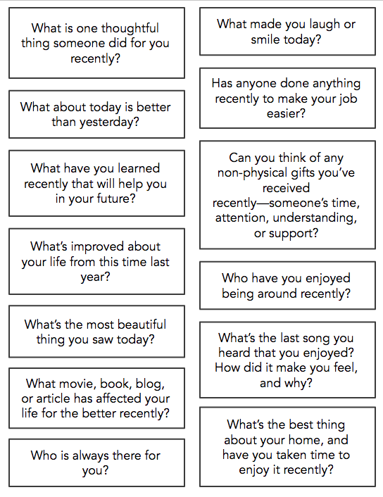 GRATITUDE CONVERSATION PROMPTS