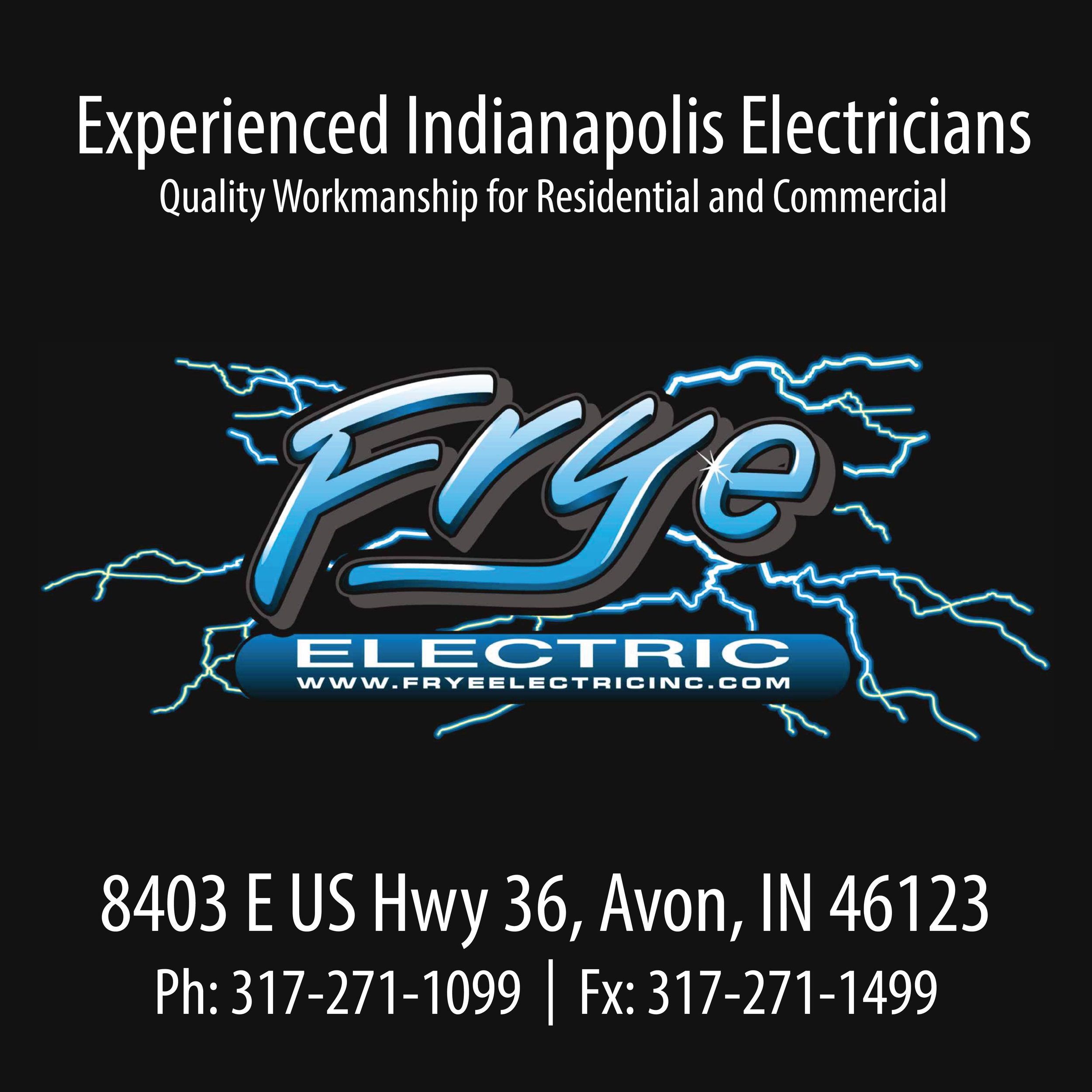 need electrical work? frye not? seriously, thanks frye! - Click link below.