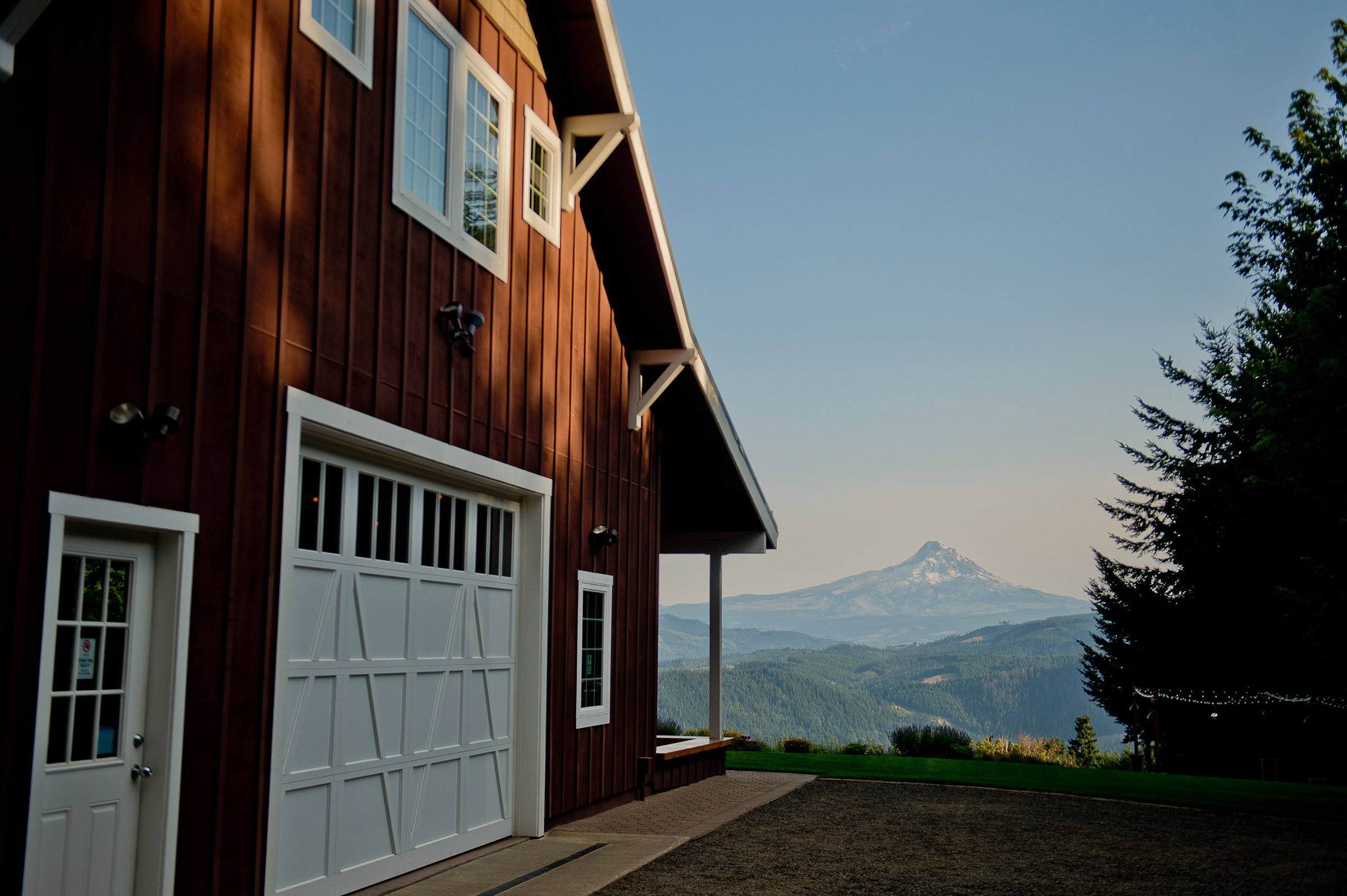 Gorge Crest Vineyards Home