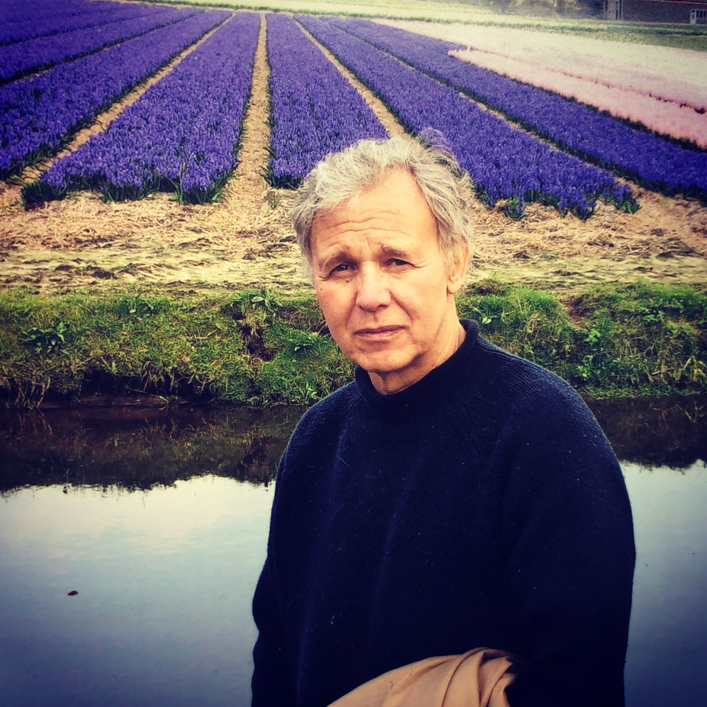 Tony Russo visiting the flower farm of one of our growers in Holland.