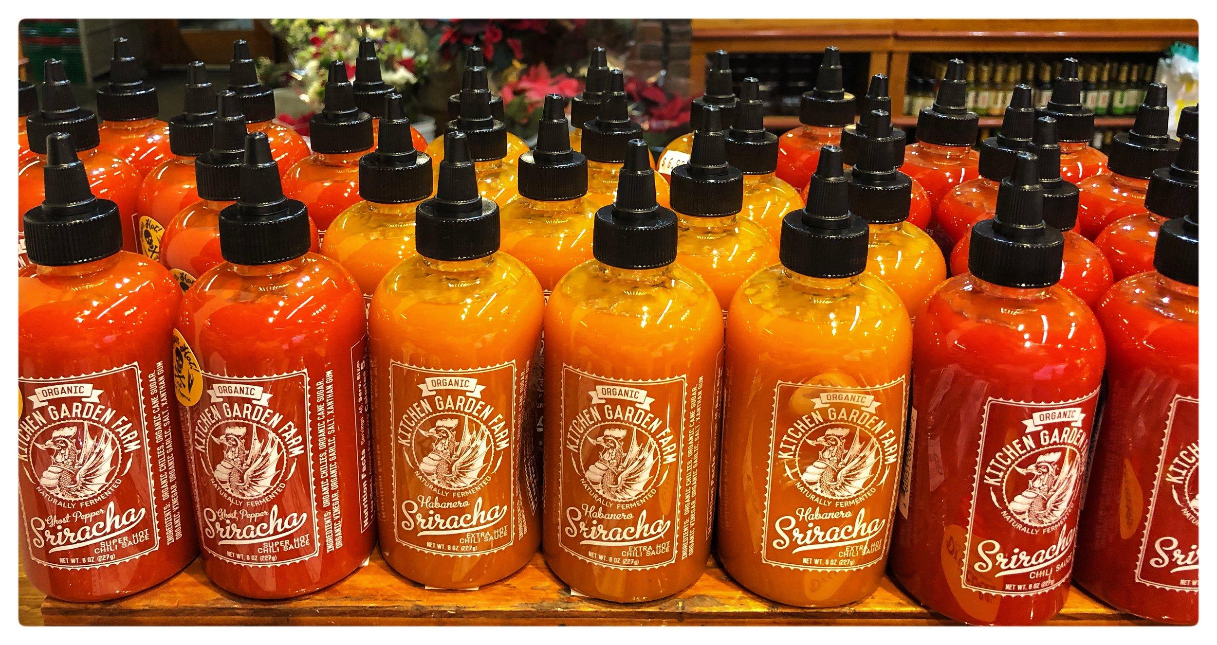 Massachusetts-made organic Sriracha makes a delicious stocking stuffer!