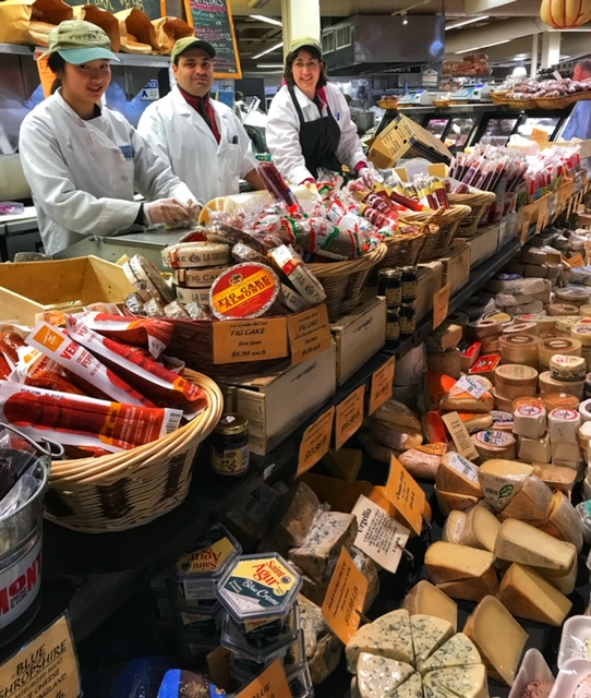 Our cheese department at Russo's will answer all of your cheesy questions and they love to offer samples (go ahead and request a few!)!