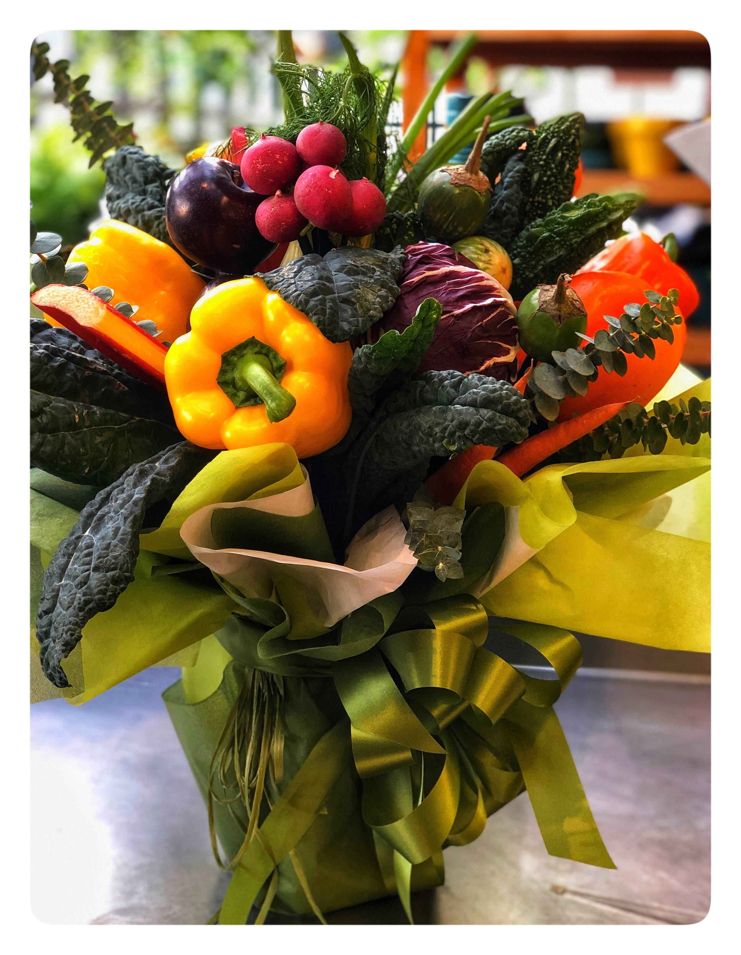 A Vase of Vegetables - the perfect gift for the foodie in your life!