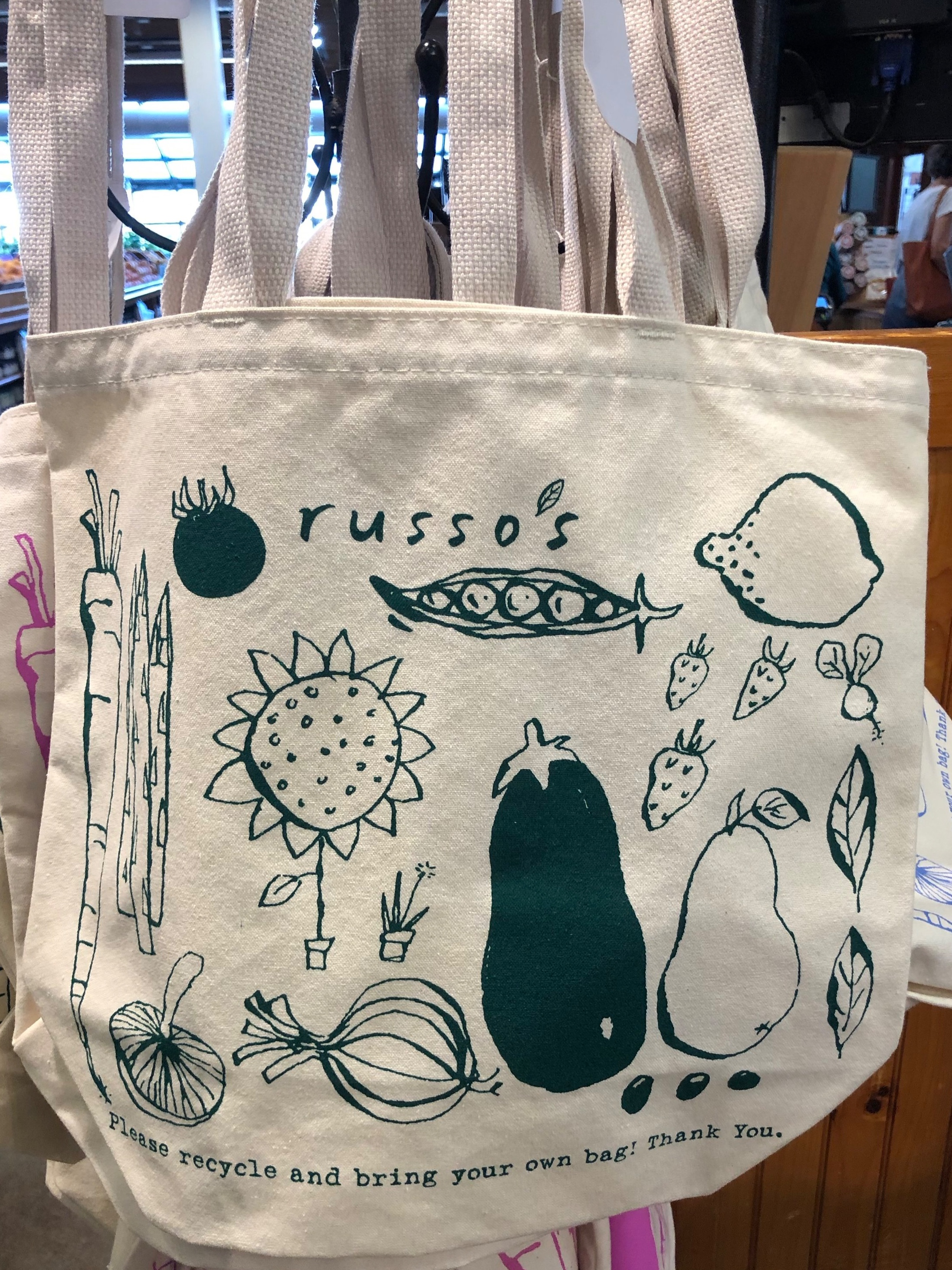 Our newest Russo's Tote Bag color for fall!
