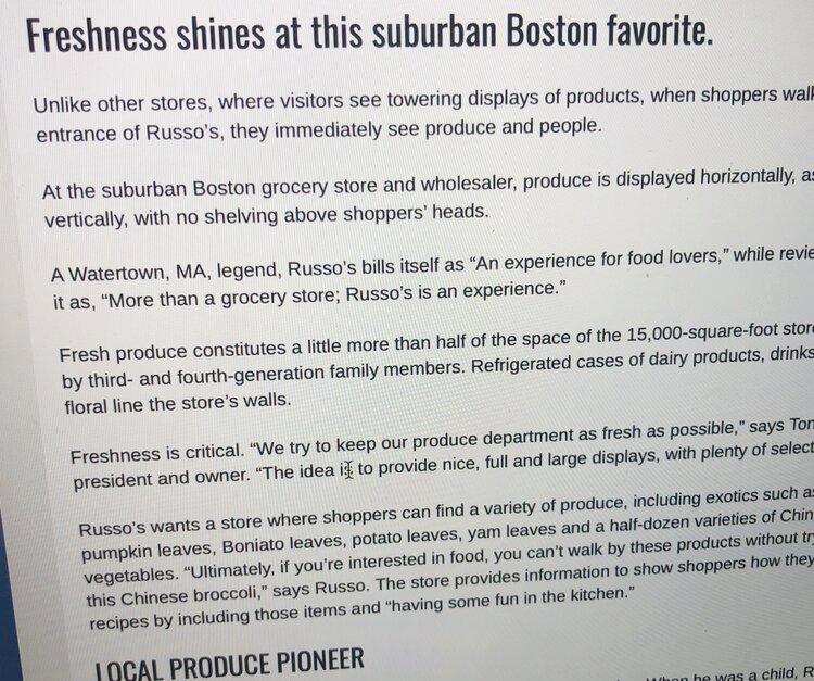 """Freshness shines at this suburban Boston favorite"""