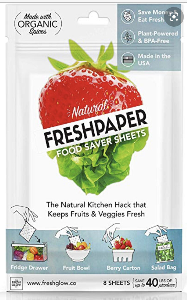 FreshPaper's current day logo and packaging,