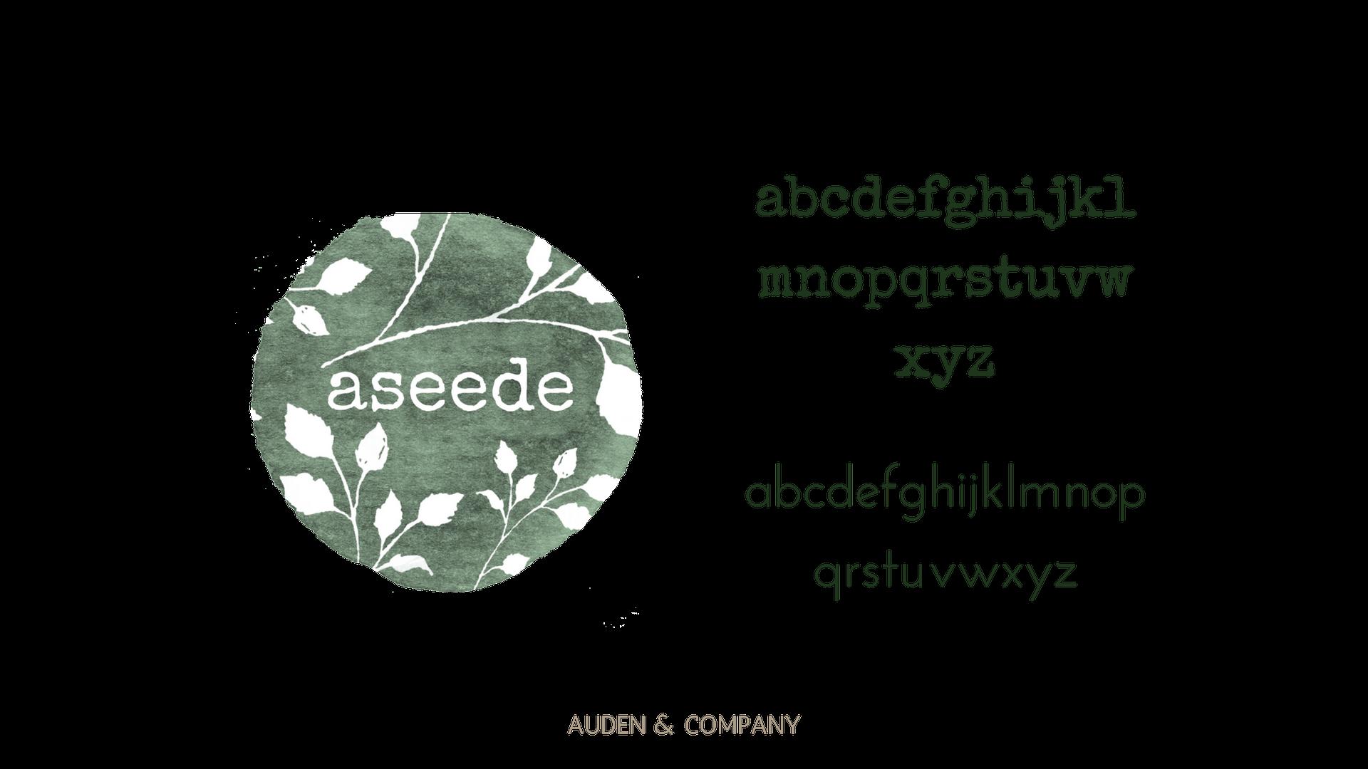 ASEEDE logo & font portfolio.png