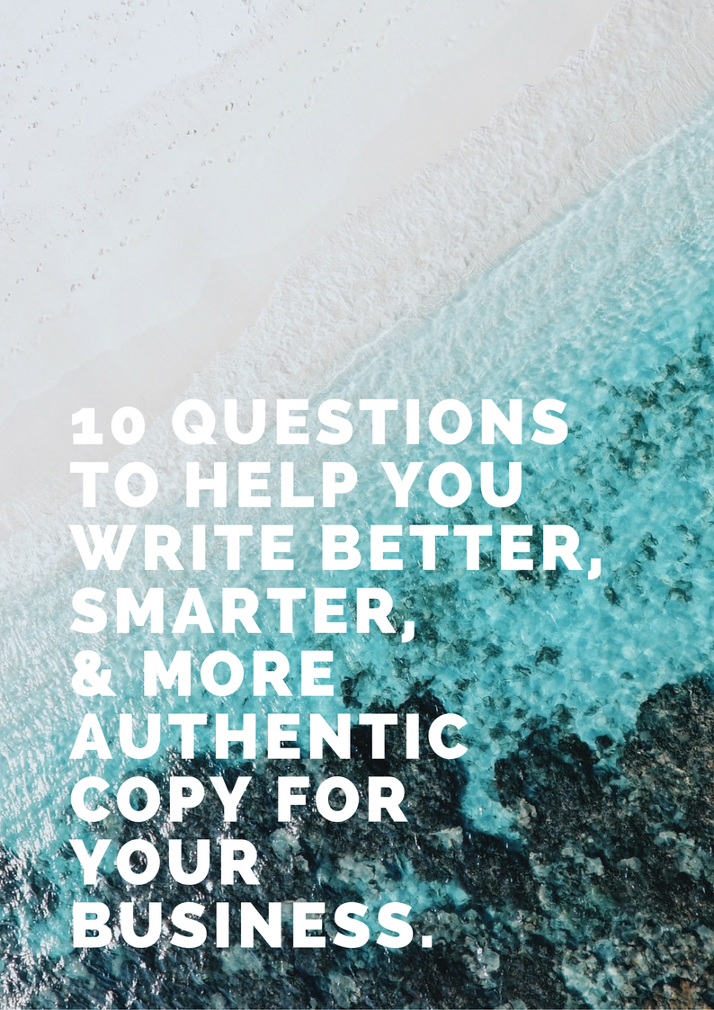 Download your free guide to writing better copy. - Get your guide full of tips at the link below!