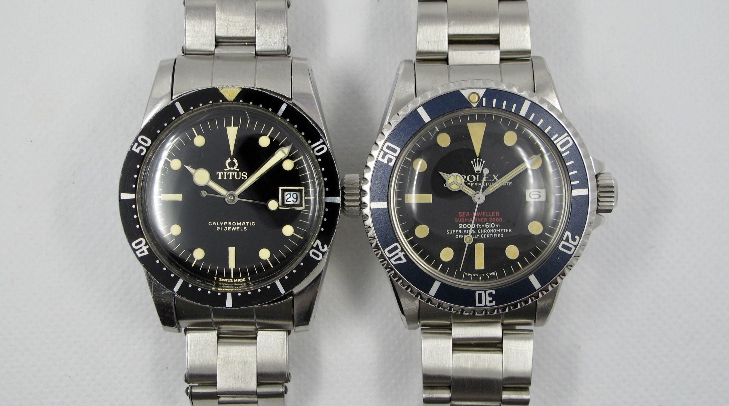 Long lugs help the watch wear much bigger than the list diameter.