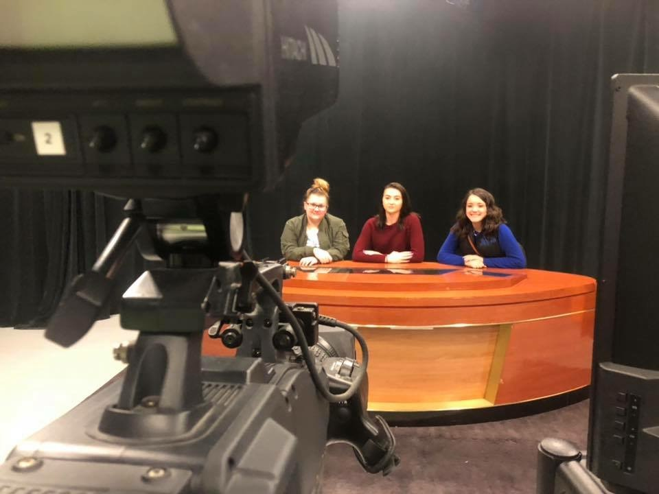 All Access EKY Fellows on College Tour of Communications Department at Morehead