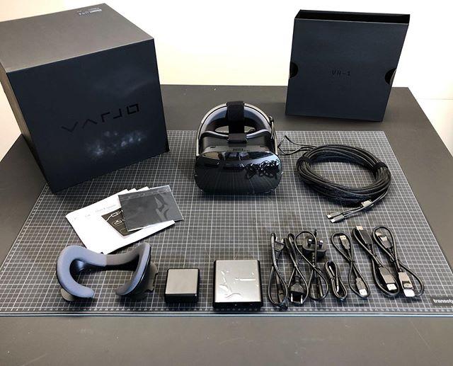 🥽 Varjo VR-1 unboxing . . . #varjovr #unboxing #virtualreality #bionicresolution