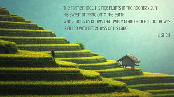 Poem and translation from Every Grain of Rice (Page 6)