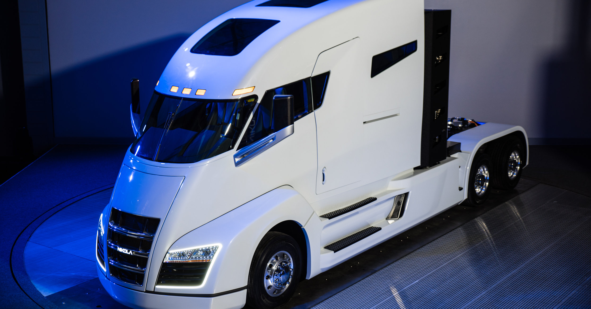Nikola electric semi truck.
