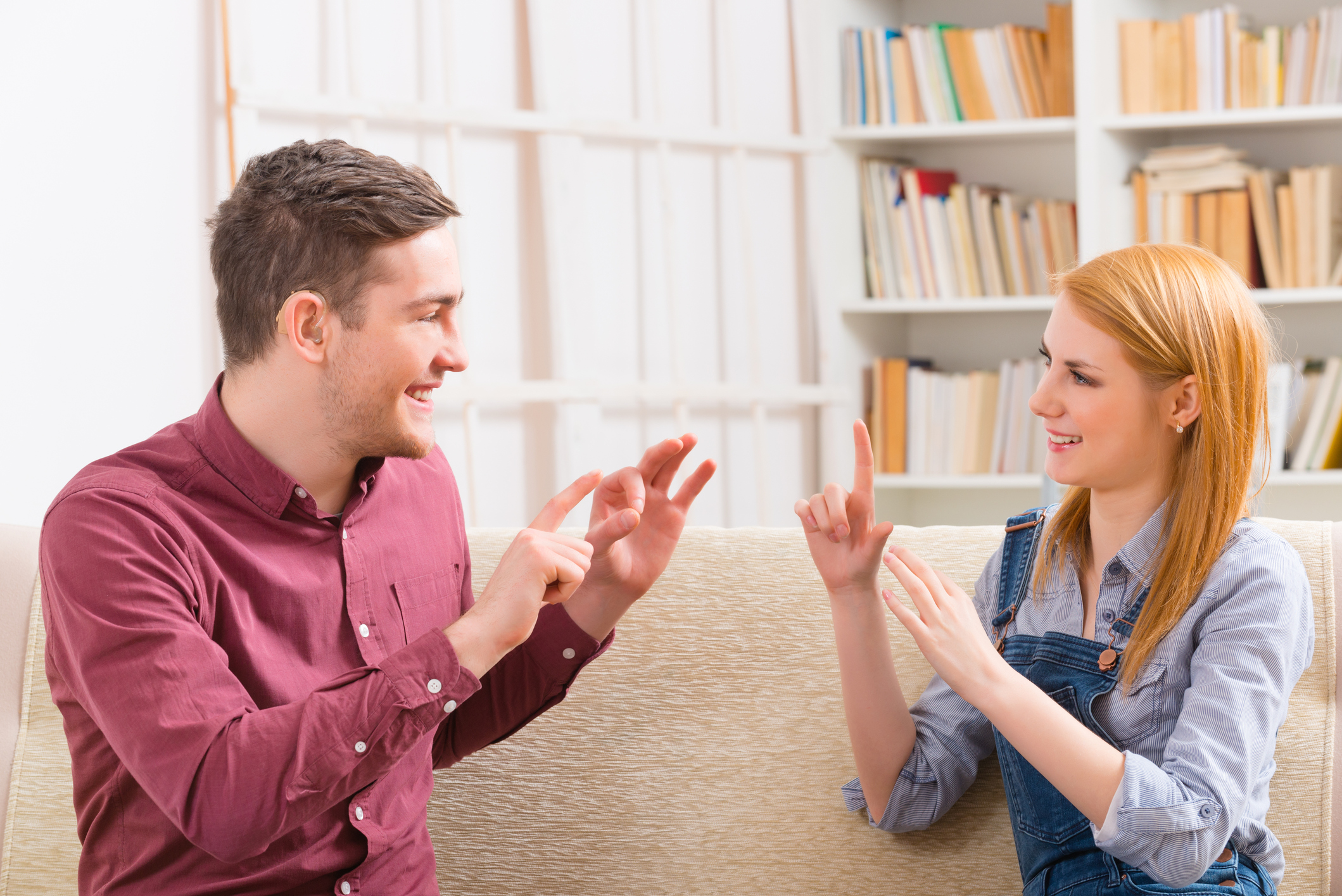 Expanding communication - Tips for communication partners who are using AAC to expand communication with a partner.