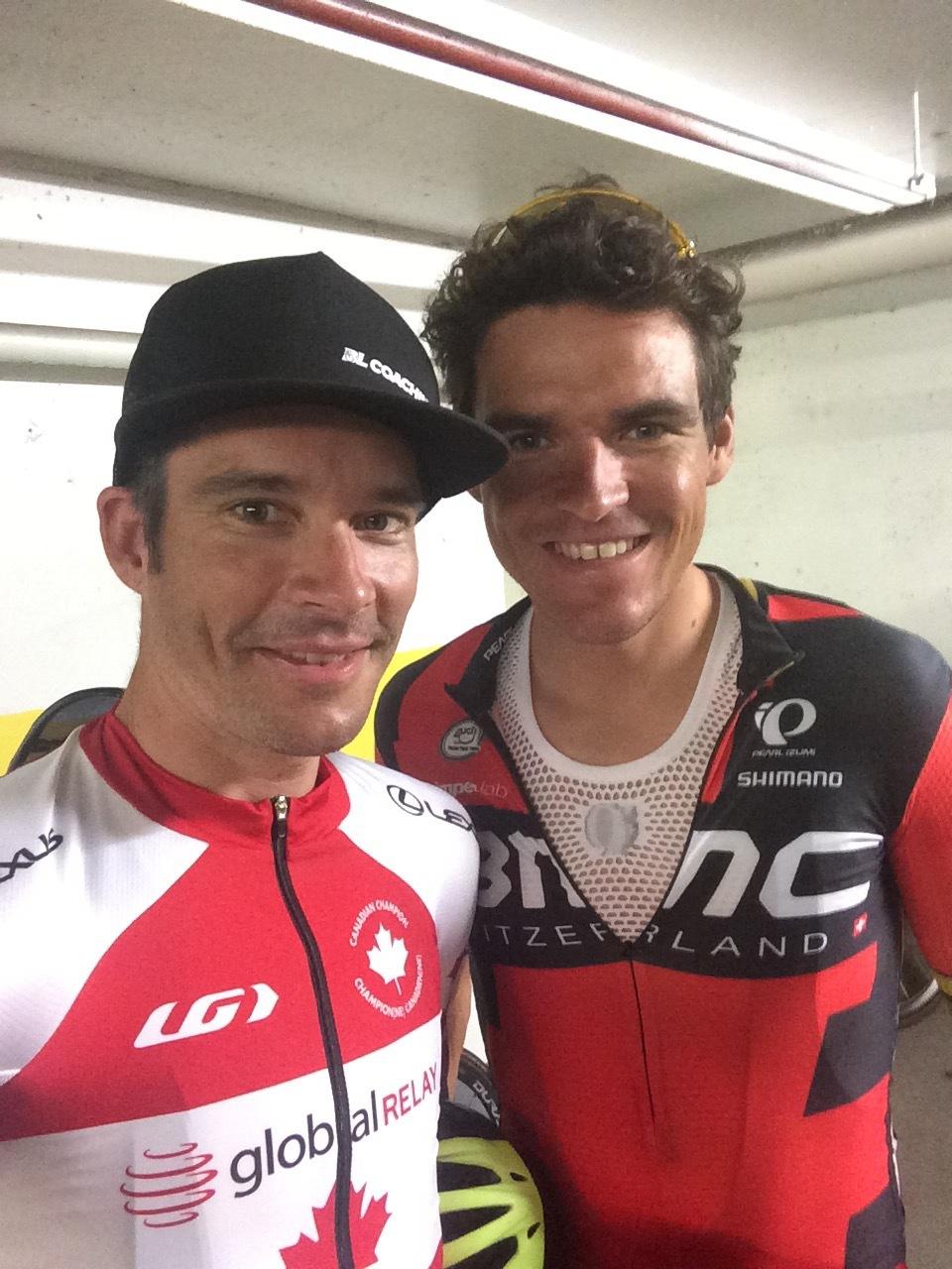 Bruno Langlois et Greg Van Avermaet