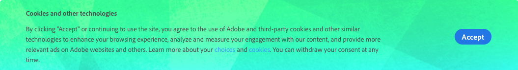 Adobe    is going to 'enhance your browsing experience.' Sounds great!