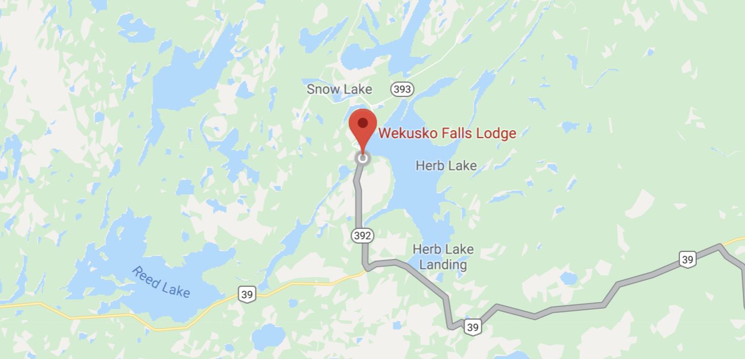 Wekusko Falls Lodge in Northern Manitoba