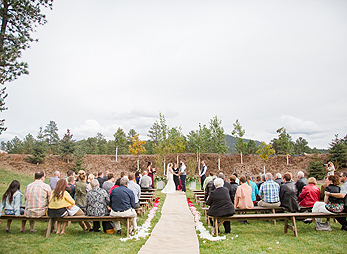 "Saying ""I do"" at The Homestead at Prairie Berry Winery"