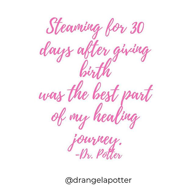 Truth.  As you may know by now, it was my first postpartum experience that began my passion for supporting mothers.  After I had my son I was shocked at how my body felt.  I was completely unprepared for how to help my body heal physically and it made my head spin to just to think about where to begin the healing process. . I did end up healing well after that birth but it took lots of support and research.  From that point on I started researching what it meant to truly help a postpartum mom heal after birth. . Enter in: yoni steaming. . When I first heard about it during my second pregnancy, I knew it was one of the answers I had been looking for to support true healing after birth.  Once I had my second baby, I steamed for 30 days straight and it was an amazing part of my healing journey. . Here's the thing ladies, yoni steaming may sound completely foreign and crazy to you but birth will take you to very intense places with your own healing.  Birth will bring you to a place where you have to start talking about uncomfortable feelings and symptoms.  It's things like yoni steaming that will help make all that heal. . If you want to know more about yoni steaming and healing after birth, come join my Facebook live talk this Thursday at 8:30am in my free, private group.  #linkinbio to join the group! . . . #wombhealth #birthhealing #postnatalrecovery #balancedpostpartum #motherhoodintheraw #postpartumlifeafterbirth #newmothers #healthafterbirth #matrescence #healingafterbirth #motherhoodhealing #pregnantmamas #medicineforthemama #mothercare #motherhoodreality #wombmedicine #letsgetrealaboutpostpartum #motherhoodismiraculous #healthypostpartum #postpartumjourney #newmotherhood #wombhealing #4thtrimesterbodies #yonisteam #yonisteaming #vsteam #vsteaming #yonisteambath #yonisteamherbs